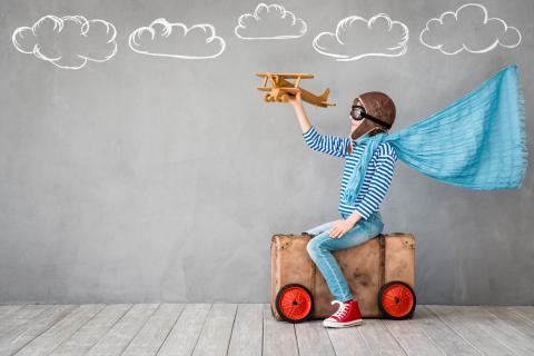 jouet en bois avion