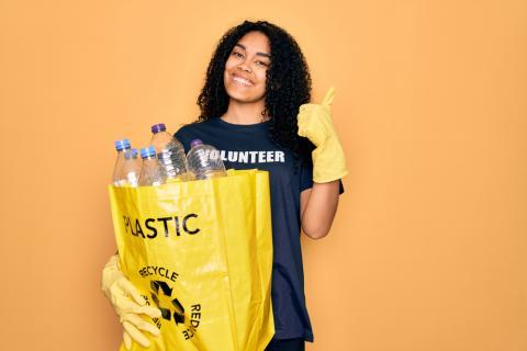 volontaire plastique