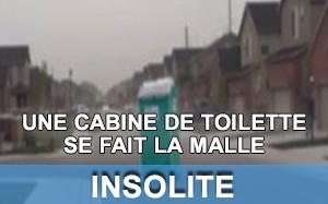 Vidéo etats-unis toilette de chantier