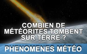 Article sur les météorites