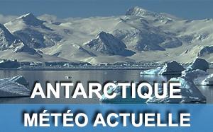 Météo actuelle en Antarctique
