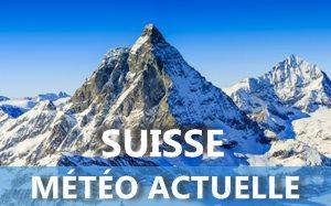 Météo actuelle en Suisse