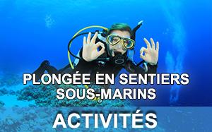 Plongée en Sentiers sous-marins