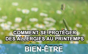Article sur les allergies au printemps