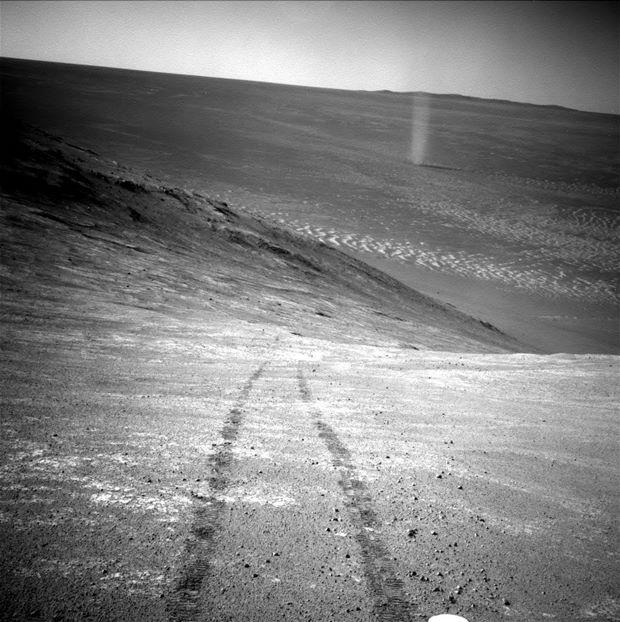 Tornade sur Mars