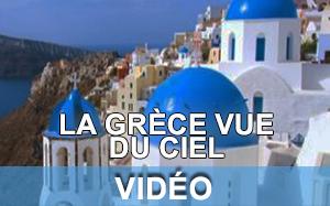 Vidéo de la Grèce vue du ciel